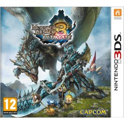 3DS MONSTER HUNTER 3 ULTIMATE - Jeux 3DS au prix de 9,95 €