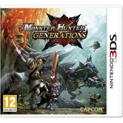 3DS MONSTER HUNTER GENERATIONS - Jeux 3DS au prix de 12,95 €