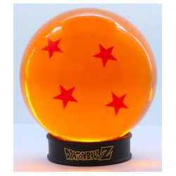 BOULE DE CRISTAL DRAGON BALL Z 75MM - Figurines au prix de 19,95 €