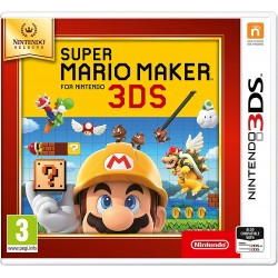 3DS SUPER MARIO MAKER 3DS (SELECTS - Jeux 3DS au prix de 14,95€