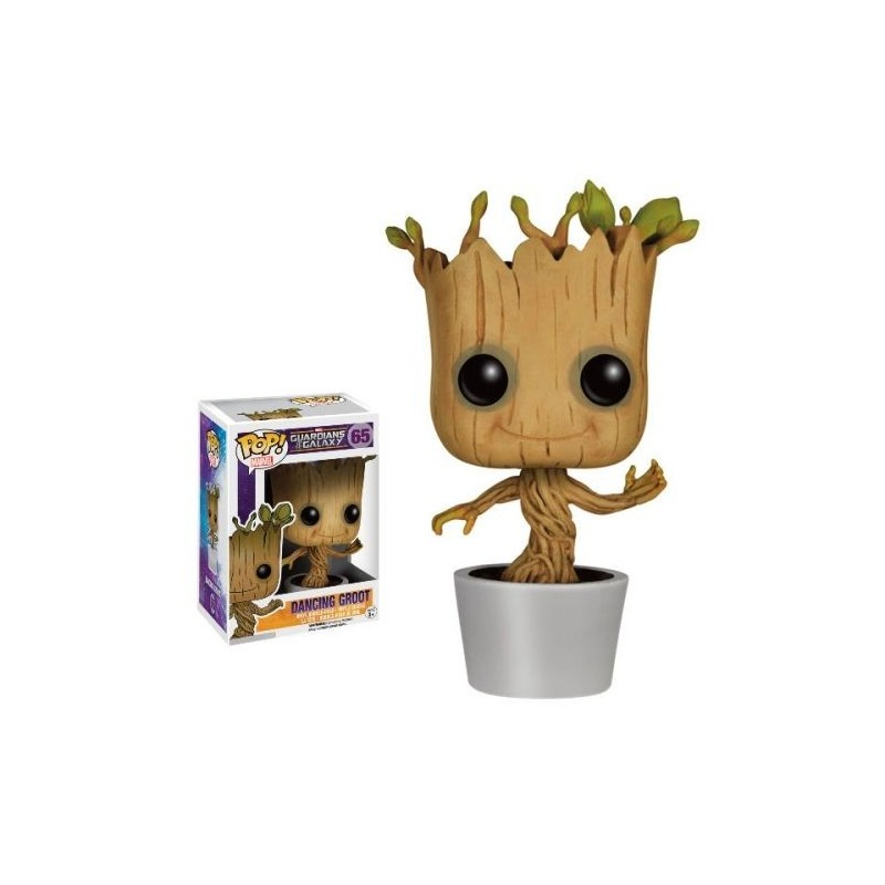 POP MARVEL GUARDIENS DE LA GALAXIE 65 DANCING GROOT - Figurines POP au prix de 14,95 €