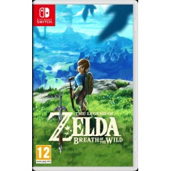 SWITCH ZELDA BREATH OF THE WILD - Jeux Switch au prix de 59,95 €