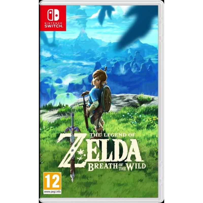 SWITCH ZELDA BREATH OF THE WILD - Jeux Switch au prix de 59,95€