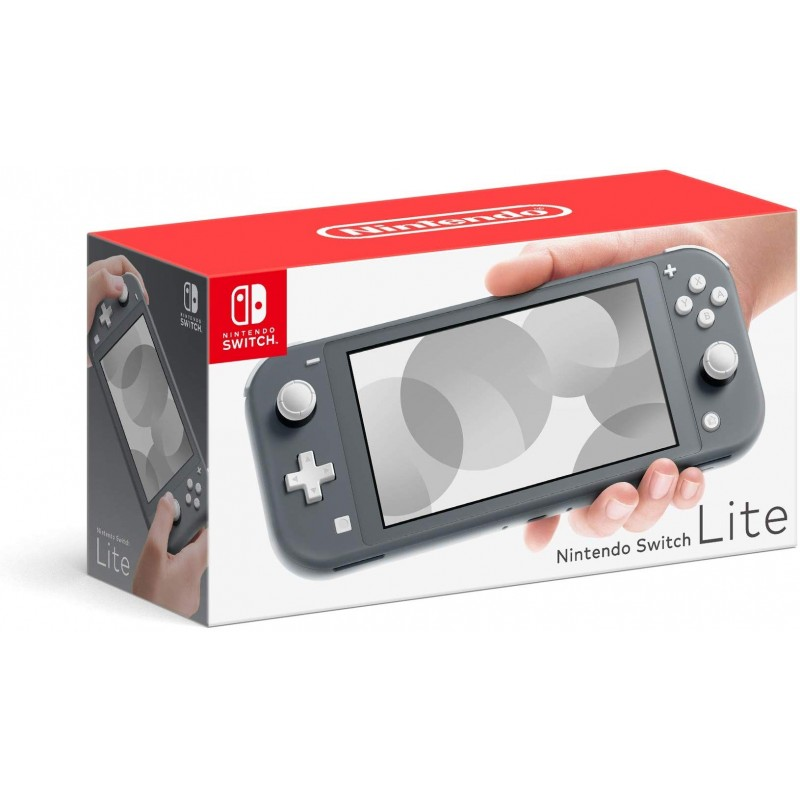 CONSOLE SWITCH LITE GREY - Consoles Switch au prix de 199,95€