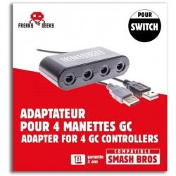 ADAPTATEUR GAMECUBE SWITCH SUBSONIC - Accessoires Switch au prix de 19,95€