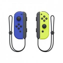 PAIRE JOYCON SWITCH BLEU JAUNE NINTENDO - Accessoires Switch au prix de 79,95€