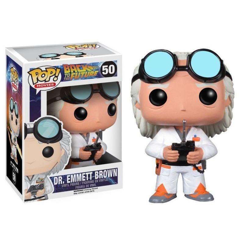 POP RETOUR VERS LE FUTUR 50 DR. EMMETT BROWN ( DOC ) - Figurines POP au prix de 14,95€