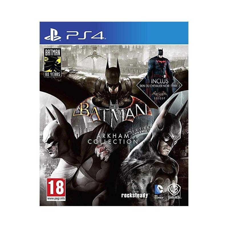 PS4 BATMAN ARKHAM COLLECTION - Jeux PS4 au prix de 49,95€