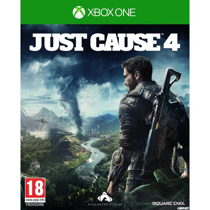 XONE JUST CAUSE 4 - Jeux Xbox One au prix de 29,95€