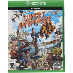 XONE SUNSET OVERDRIVE OCC - Jeux Xbox One au prix de 9,95€