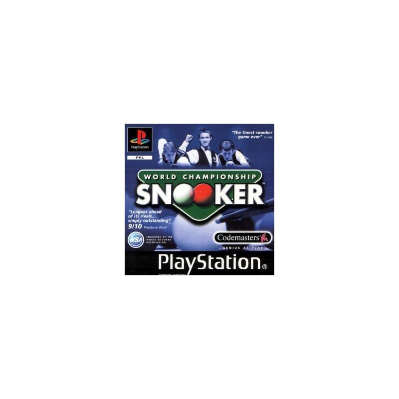 PSX WORLD CHAMPIONSHIP SNOOKER - Jeux PS1 au prix de 4,95€