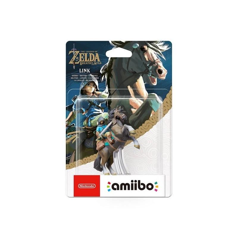 AMIIBO ZELDA BREATH OF THE WILD LINK RIDER - Figurines NFC au prix de 19,95€