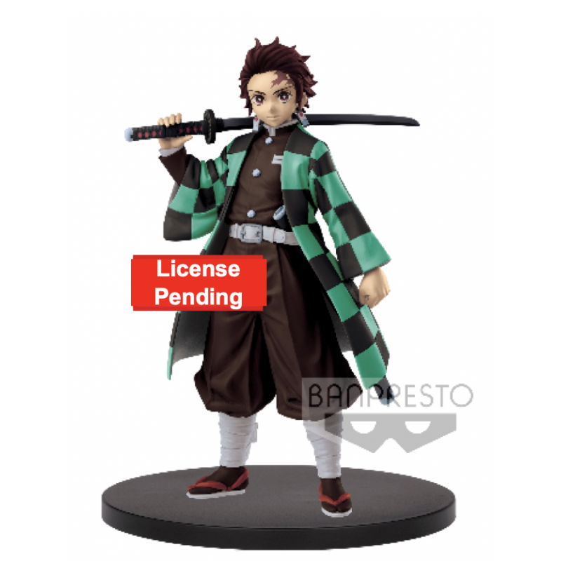 FIGURINE KIMETSU NO YAIBA TANJIRO KAMADO 15CM - Figurines au prix de 29,95€