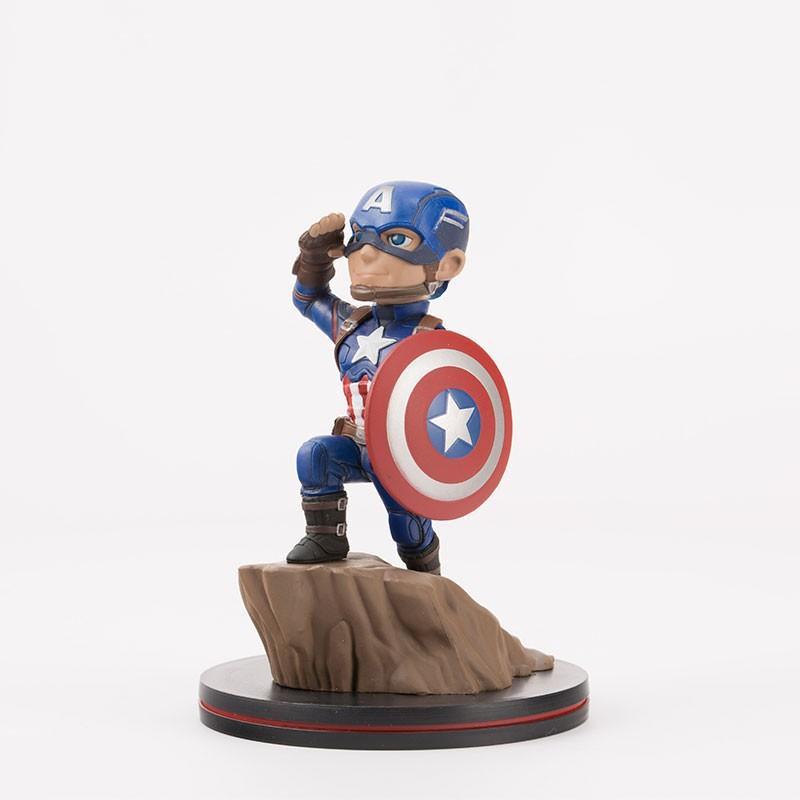 FIGURINE MARVEL CAPTAIN AMERICA QFIG 16 CM - Figurines au prix de 29,95€