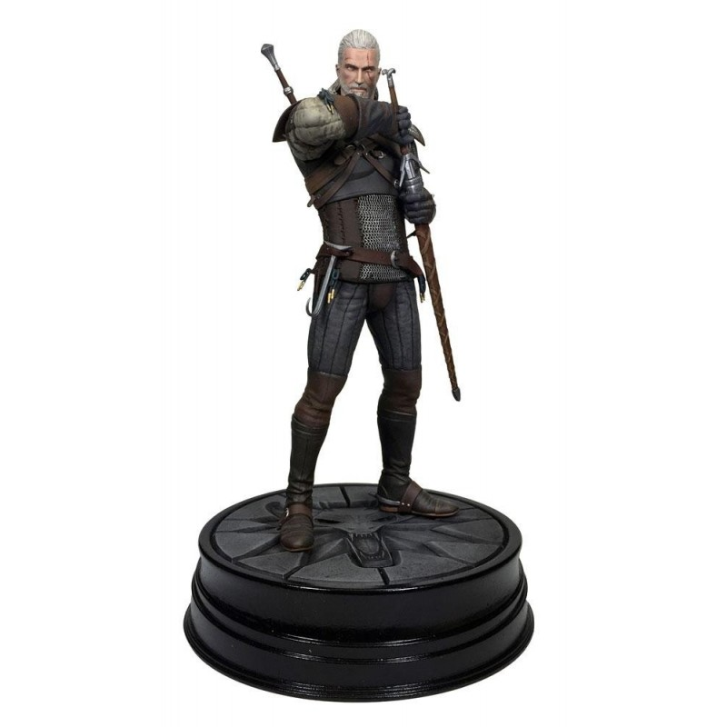 FIGURINE THE WITCHER GERALT DE RIV DARK HORSE 25CM - Figurines au prix de 39,95 €