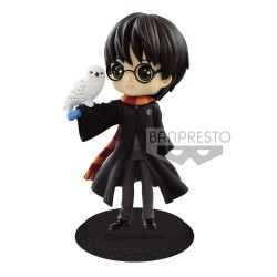 Q POSKET HARRY POTTER ET HEDWIGE NORMAL COLOR 14 CM - Figurines au prix de 27,95 €