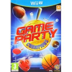 WIU GAME PARTY CHAMPIONS - Jeux Wii U au prix de 6,95€