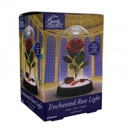 LAMPE DISNEY LA BELLE ET LA BETE ROSE ENCHANTEE 20 CM - Lampes Décor au prix de 24,95€
