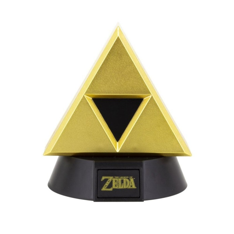 MINI LAMPE ZELDA GOLD TRIFORCE 10 CM - Lampes Décor au prix de 14,95€