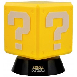 MINI LAMPE NINTENDO QUESTION BLOCK 10 CM - Lampes Décor au prix de 14,95 €
