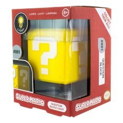 MINI LAMPE NINTENDO QUESTION BLOCK 10 CM - Lampes Décor au prix de 14,95€