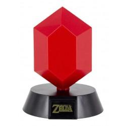 MINI LAMPE ZELDA RUBIS ROUGE 10 CM - Lampes Décor au prix de 14,95€