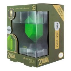 MINI LAMPE ZELDA RUBIS VERT 10 CM - Lampes Décor au prix de 14,95€