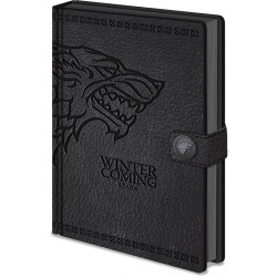 NOTEBOOK GAME OF THRONES A5 STARK - Papeterie au prix de 9,95 €