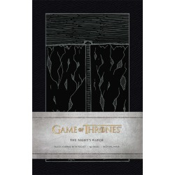 NOTEBOOK GAME OF THRONES A5 THE NIGHTS WATCH - Papeterie au prix de 9,95 €
