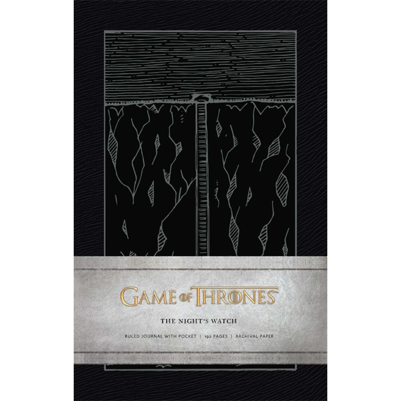 NOTEBOOK GAME OF THRONES A5 THE NIGHTS WATCH - Papeterie au prix de 9,95€