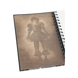 NOTEBOOK IT PENNYWISE ET GEORGIE A5 - Papeterie au prix de 6,95 €