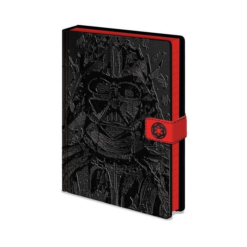 NOTEBOOK STAR WARS A5 VADER ART - Papeterie au prix de 9,95€
