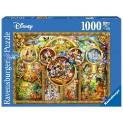 PUZZLE DISNEY BEAUX THEMES 1000 PIECES - Puzzles au prix de 14,95€