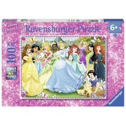 PUZZLE DISNEY PRINCESSES MAGIQUES 100 PIECES - Puzzles au prix de 12,95€