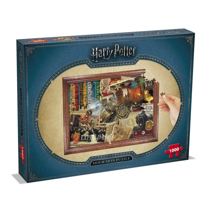 PUZZLE HARRY POTTER POUDLARD 1000 PIECES - Puzzles au prix de 14,95 €