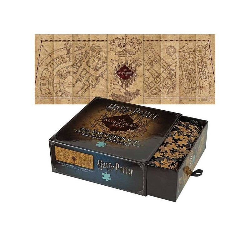 PUZZLE HARRY POTTER THE MARAUDER MAP 1000 PIECES - Puzzles au prix de 24,95 €
