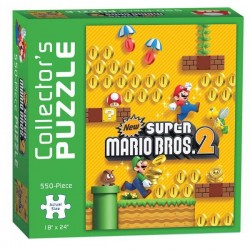 PUZZLE NINTENDO NEW SUPER MARIO BROS 2 EDITION COLLECTOR 500 PIECES - Puzzles au prix de 14,95 €