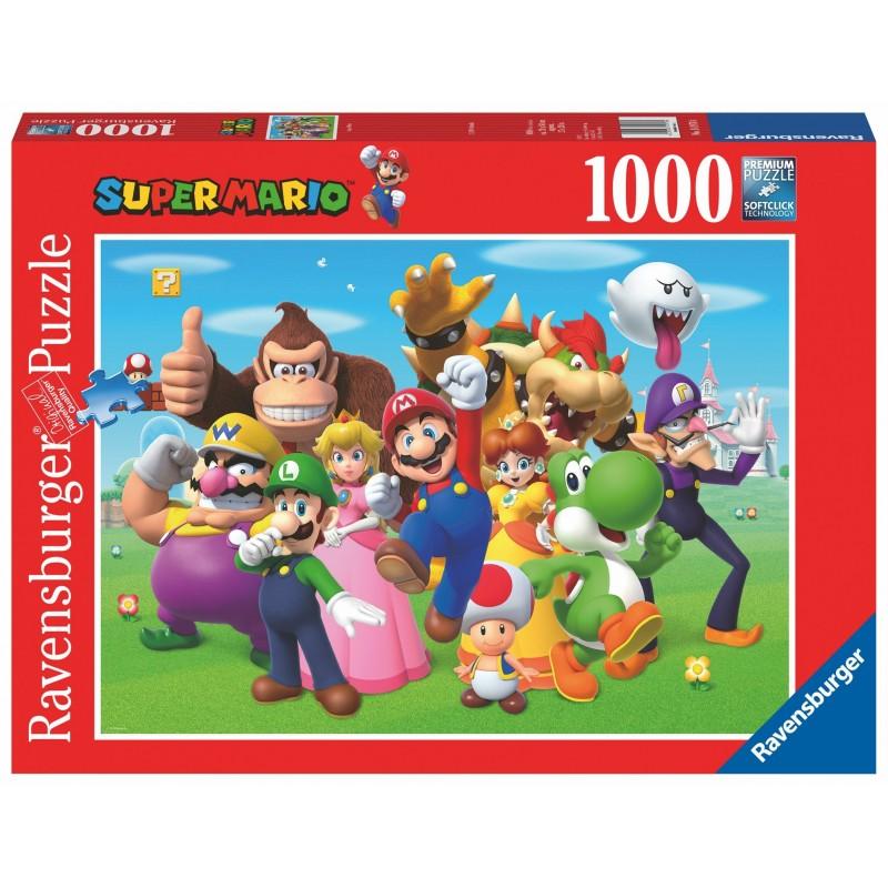 PUZZLE NINTENDO SUPER MARIO 1000 PIECES - Puzzles au prix de 14,95€