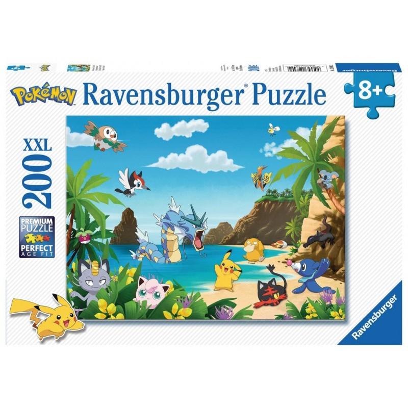 PUZZLE POKEMON ATTRAPEZ LES TOUS 200 PIECES - Puzzles au prix de 12,95€
