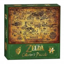 PUZZLE ZELDA CARTE HYRULE EDITION COLLECTOR 550 PIECES - Puzzles au prix de 14,95 €