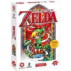 PUZZLE ZELDA LINK WIND WAKER 550 PIECES - Puzzles au prix de 11,95€