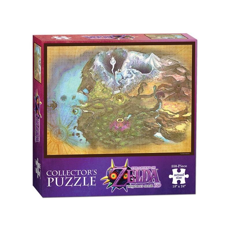 PUZZLE ZELDA MAJORA S MASK TERMINA 550 PIECES - Puzzles au prix de 14,95€