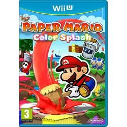 WIU PAPER MARIO COLOR SPLASH - Jeux Wii U au prix de 14,95€