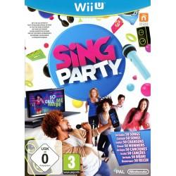 WIU SING PARTY (AVEC MICRO) - Jeux Wii U au prix de 9,95€
