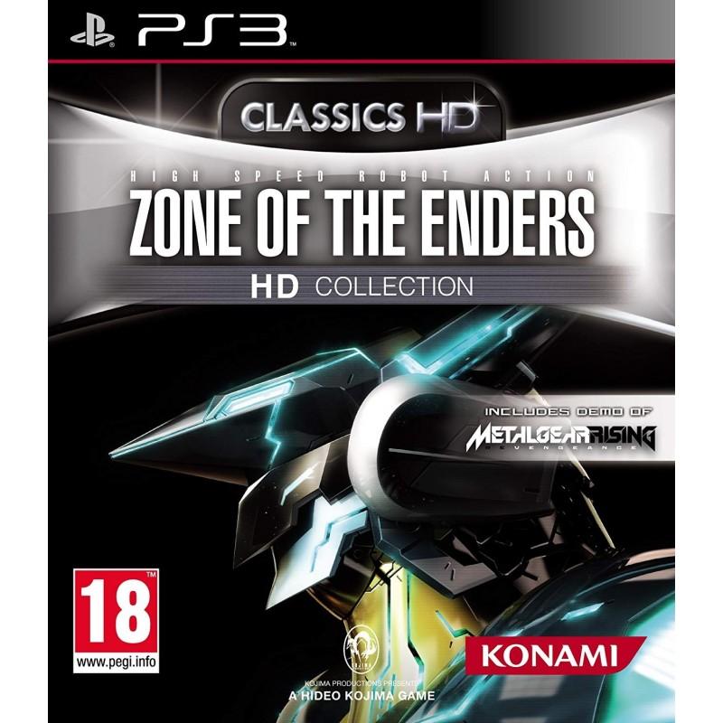 PS3 ZONE OF THE ENDERS HD COLLECTION - Jeux PS3 au prix de 9,95€