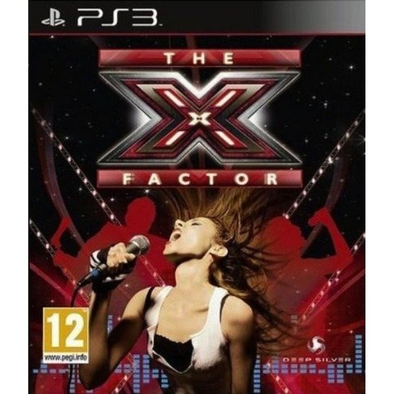PS3 THE X FACTOR - Jeux PS3 au prix de 6,95€