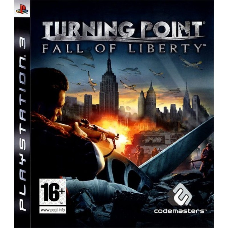PS3 TURNING POINT FALL OF LIBERTY - Jeux PS3 au prix de 5,95€