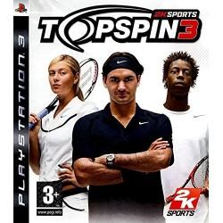 PS3 TOP SPIN 3 - Jeux PS3 au prix de 5,95€