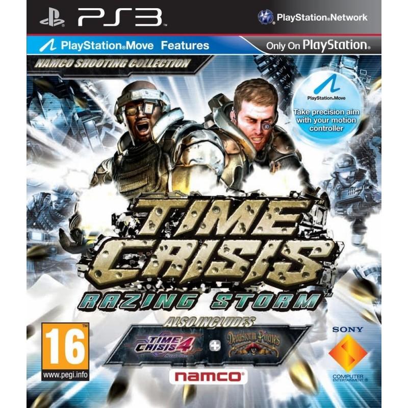 PS3 TIME CRISIS RAZING STORM - Jeux PS3 au prix de 6,95€