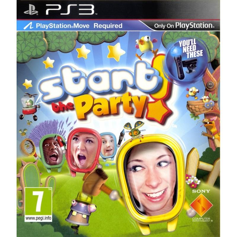 PS3 START THE PARTY - Jeux PS3 au prix de 4,00€